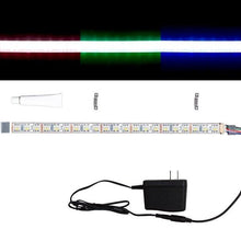 Load image into Gallery viewer, Environmental Lights Waterproof RGBDW 4-in-1 5050 CurrentControl LED Strip Light, 72/m, 12mm wide, Sample Kit from OnSetLighting.com