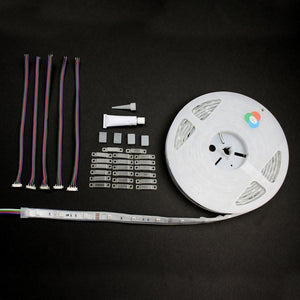 Environmental Lights Waterproof RGB 5050 LED Strip Light, 30/m, 10mm wide, by the 5m Reel from OnSetLighting.com