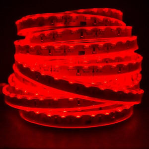 Environmental Lights Waterproof Red 3014 Side View LED Strip Light, 96/m, 8mm wide, by the 5m Reel from OnSetLighting.com