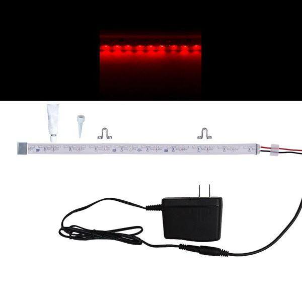 Environmental Lights Waterproof Side Mount Red 3014 Side View LED Strip Light, 96/m, 8mm wide, Sample Kit from OnSetLighting.com