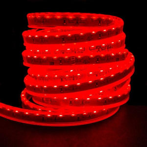Environmental Lights Waterproof Side Mount Red 3014 Side View LED Strip Light, 96/m, 8mm wide, by the 5m Reel from OnSetLighting.com