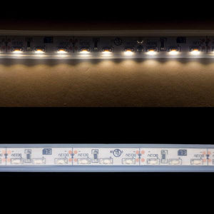 Environmental Lights Waterproof Side Mount Soft White 3014 Side View LED Strip Light, 96/m, 8mm wide, by the 5m Reel from OnSetLighting.com
