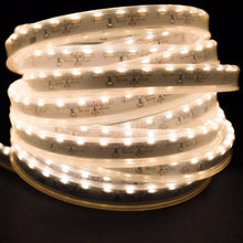 Load image into Gallery viewer, Environmental Lights Waterproof Side Mount Soft White 3014 Side View LED Strip Light, 96/m, 8mm wide, by the 5m Reel from OnSetLighting.com