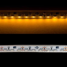 Load image into Gallery viewer, Environmental Lights Waterproof Very Warm White 3014 Side View LED Strip Light, 96/m, 8mm wide, by the 5m Reel from OnSetLighting.com