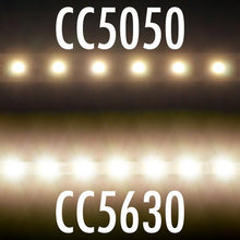 Load image into Gallery viewer, Environmental Lights Warm White 5630 Single Row CurrentControl LED Strip Light, 70/m, 5.1mm wide, by the 2m Reel from OnSetLighting.com