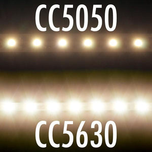 Environmental Lights Warm White 5630 Single Row CurrentControl LED Strip Light, 70/m, 5.1mm wide, by the 2m Reel from OnSetLighting.com