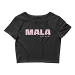 Mala Forever Crop Top - Pink and Black (Temporarily Out of Stock)