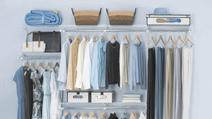 My walk-in closet system cost less than a pair of pants