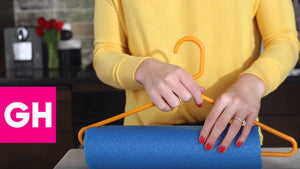 Avoid hanger creases on pants and other clothes with this easy hack using a pool noodle! SUPPLIES Hanger Pool Noodle Serrated Knife Dryer Sheets Watch ...