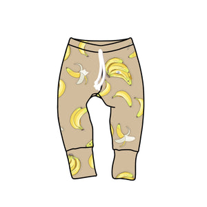 Nixi Lounge Pants: Bananas