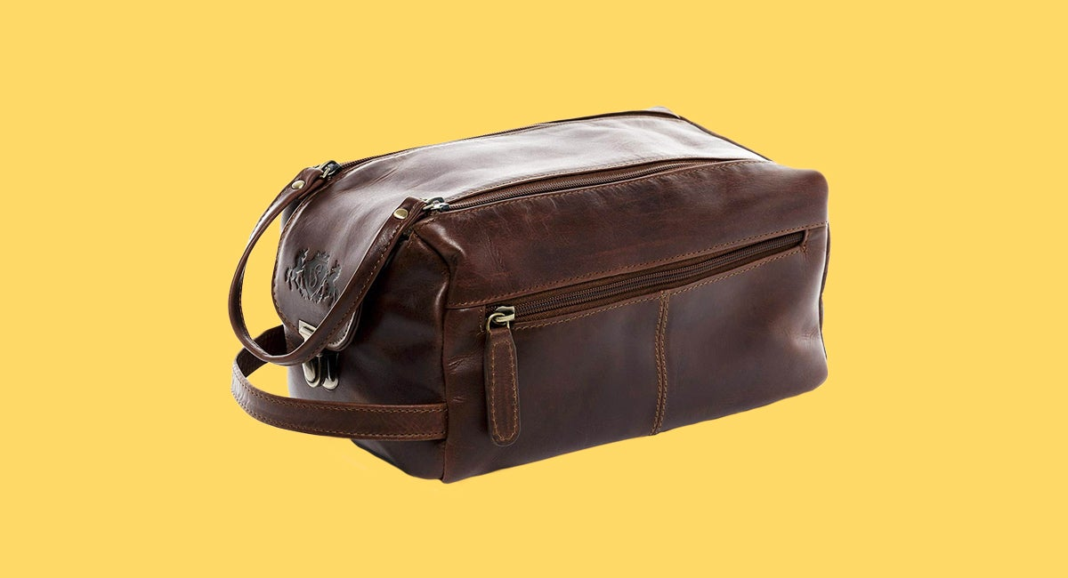 A good toiletry kit, also known as a Dopp Kit, is clutch