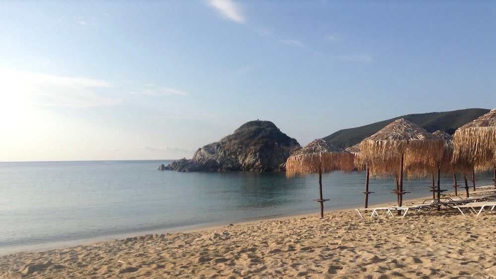 The post On The Best Beach In Greece appeared first on Peaceful Dumpling.