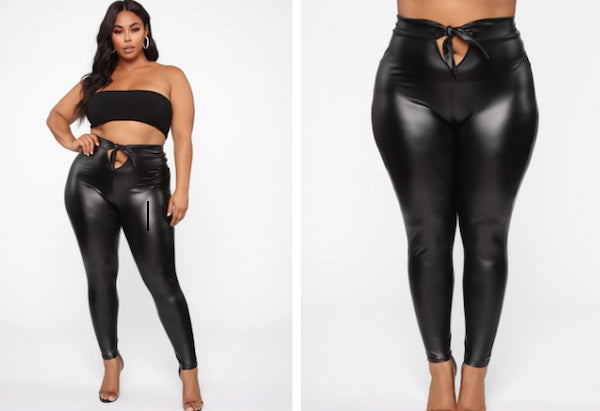 Are You Daring Enough To Wear Fashion Nova's Leggings With A Crotch Opening?