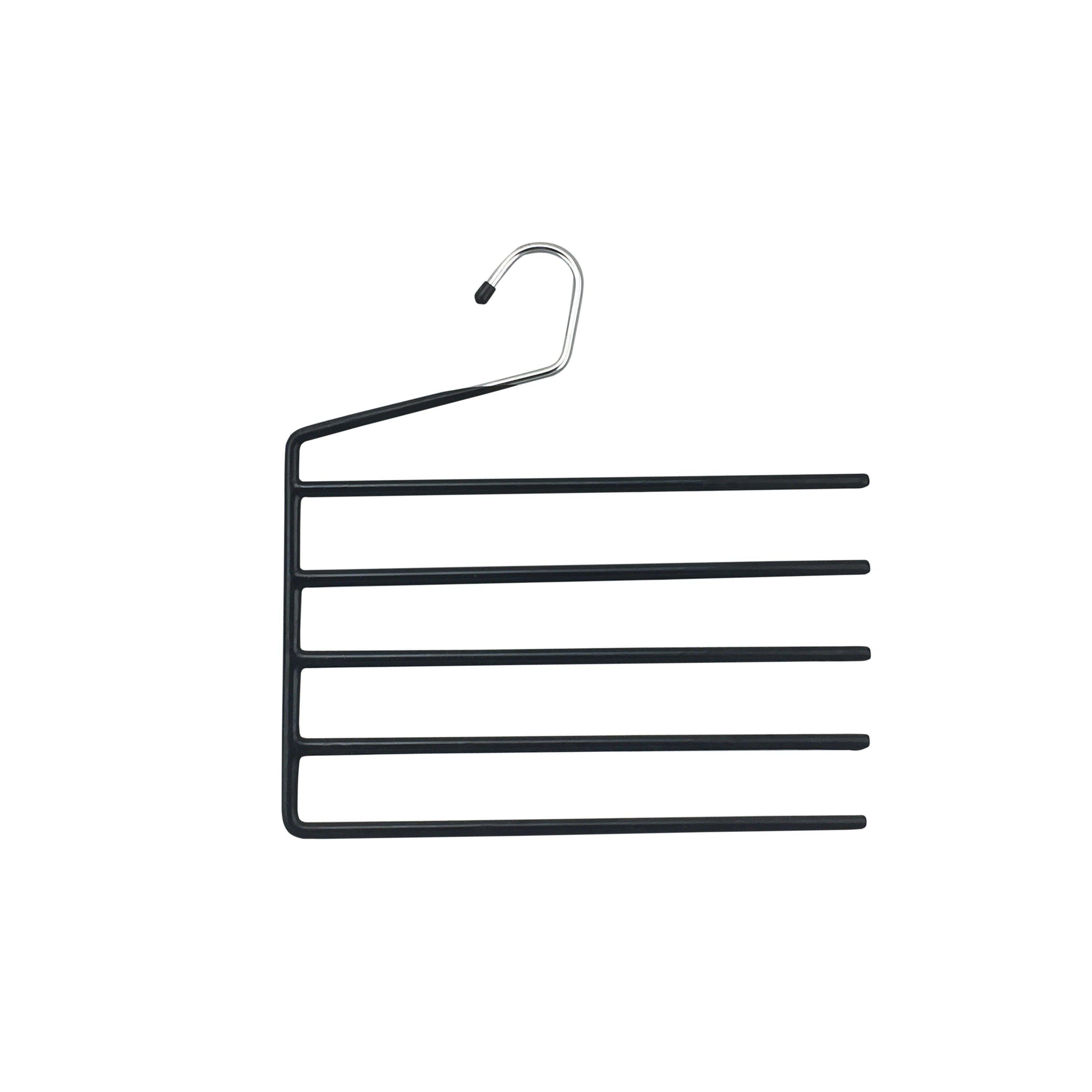 5 Tier Pants Hanger Chrome