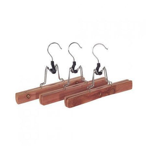 Cedar Pants Hanger Set Of 3