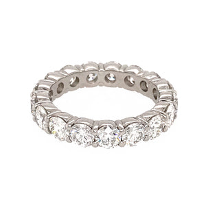 Classic 3.75 Carat Diamond Eternity Band Ring