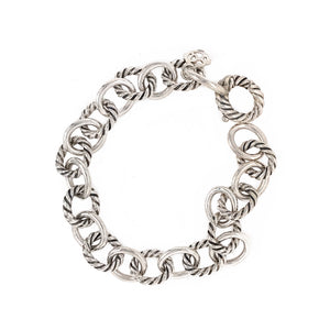 David Yurman Sterling Silver Link Bracelet