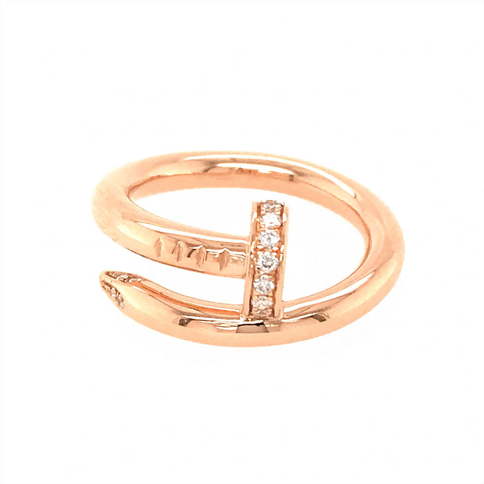 Cartier 18k Rose Gold Juste un Clou Ring