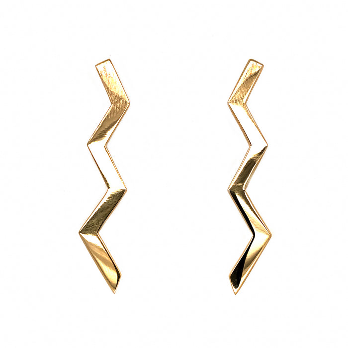 Tiffany and Co. Vintage Paloma Picasso Lightning Bolt Earrings