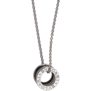 Bvlgari 18K White Gold B.Zero 1 Necklace Length: 15.75""