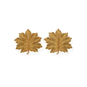 Mario Buccellati 18K Yellow Gold Earrings