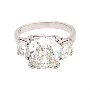 GIA Certified 5.03 ct Diamond Engagement Ring