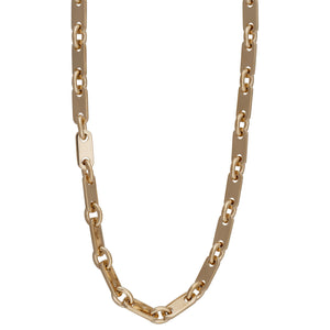 Cartier 18K Yellow Gold Link Figaro Necklace Length: 26""