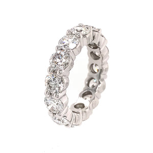 METAL TYPE: Platinum TOTAL WEIGHT: 8.4 grams RING SIZE: 5 STONE WEIGHT: 4 ct twd REFERENCE NUMBER: 16163-2-YRVV