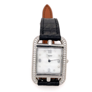 Hermes Cape Cod PM Diamond Ladies Watch