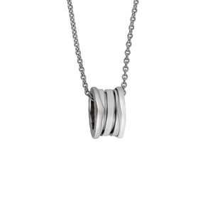 Bvlgari 18K White Gold B. Zero1 Necklace Length: 16.5""