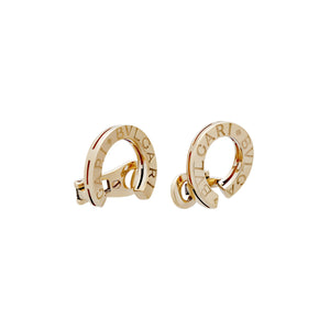 Bvlgari 18K Yellow Gold Earrings