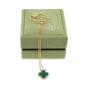 Van Cleef & Arpels Vintage Alhambra Necklace **Complete with VCA Box and Papers