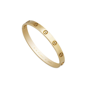 Cartier 18K Yellow Gold Love Bracelet Size: 17cm