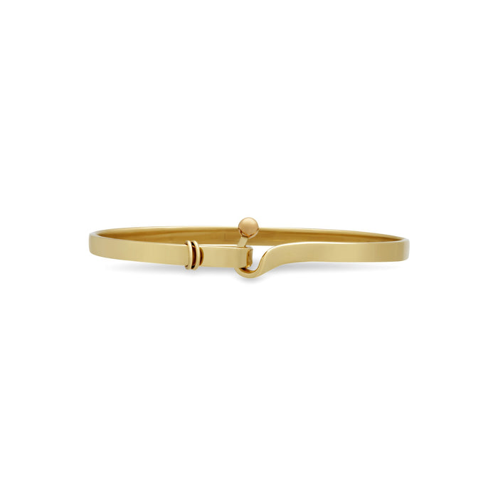 Tiffany & Co. 18K Yellow Gold Interlocking Bracelet Length 16 cm