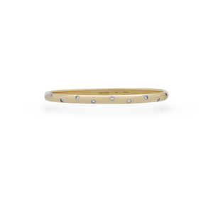 Tiffany & Co. 18K Yellow Gold Etolli Diamond Bracelet Length: 7""