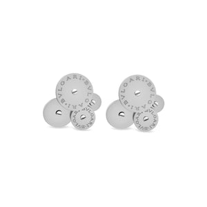 Bvlgari 18K White Gold Cicladi Earrings