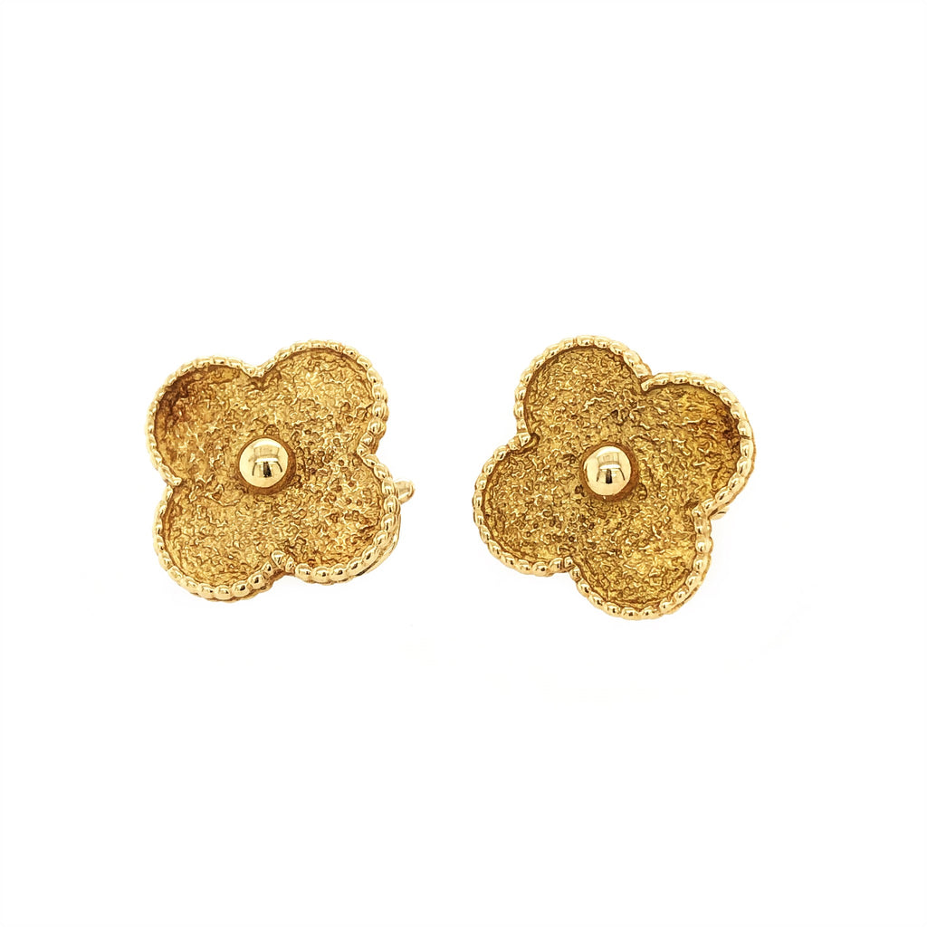 Van Cleef and Arpels Rare Jumbo Alhambra Earrings