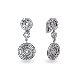 Bvlgari 18K White Gold Diamond Astrale Earrings