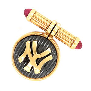 Bulgari 18k Yellow Gold Yankee Lapel Pin
