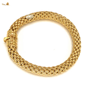 Fope 18k Yellow Gold Flex It Bracelet