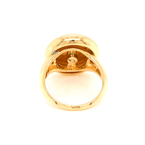 Estate 18K Yellow Gold I Love You Ring Size 4.5