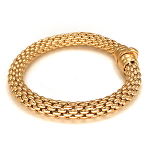 Fope 18k Pink Gold Flex It Bracelet