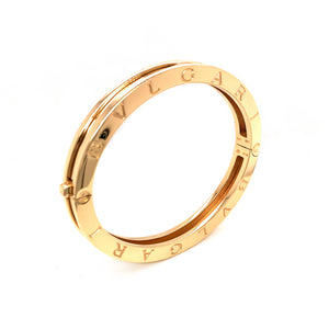 Bulgari 18k Yellow Gold Heavy B.Zero 1 Bracelet