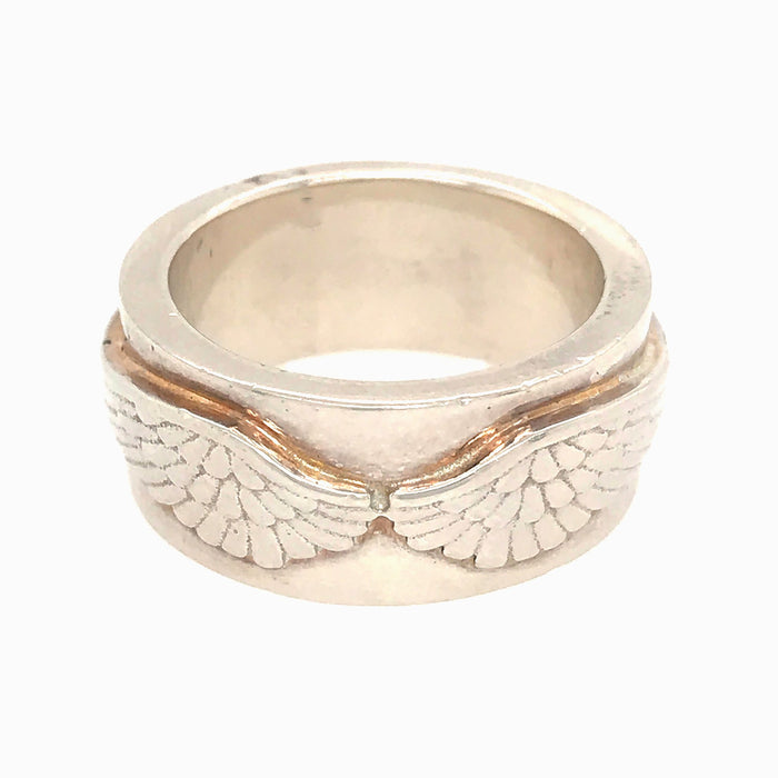 Garrard by Jade Jagger Winged Ring 7.5