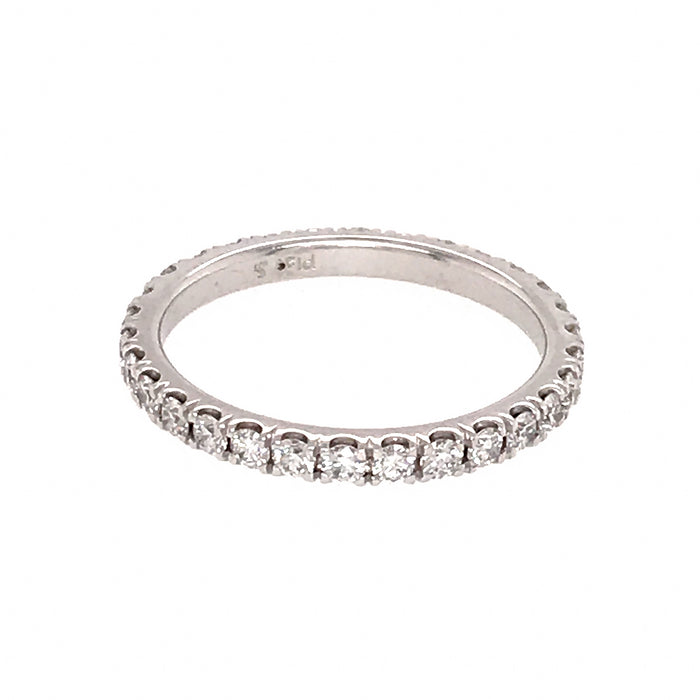 Sweet Platinum Diamond Eternity Band Ring