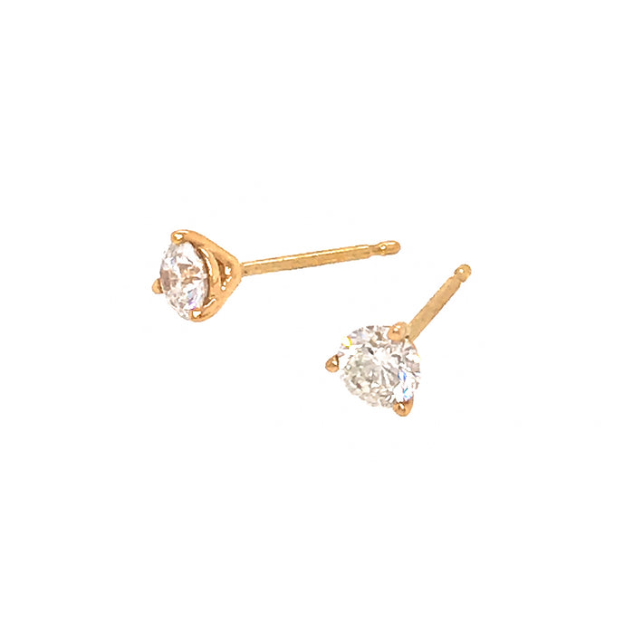 Classic 0.50 carat Diamond Stud Earrings