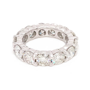 Classic Platinum 5.40 Carat Diamond Eternity band