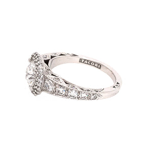 Tacori 18k White Gold Diamond Engagement Ring