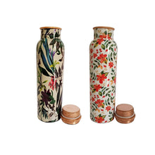Load image into Gallery viewer, Health Mechanic Trendy Copper Bottle Combo  (Pack of 2)