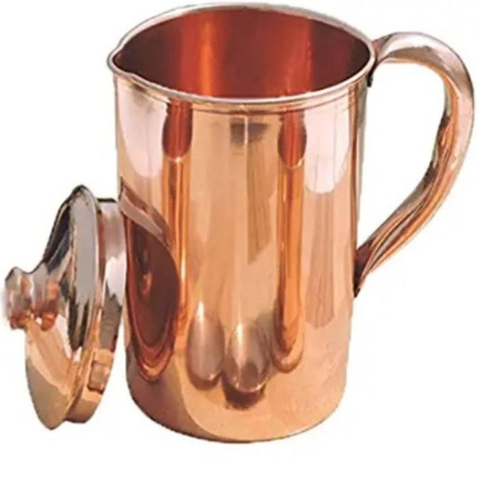 Plain Copper Jug With Best Finish